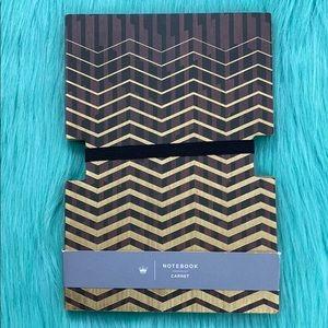 Hallmark Brown/Gold Cutout Natural Page Journal